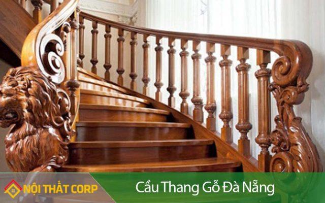 Cầu thang gỗ Đà Nẵng