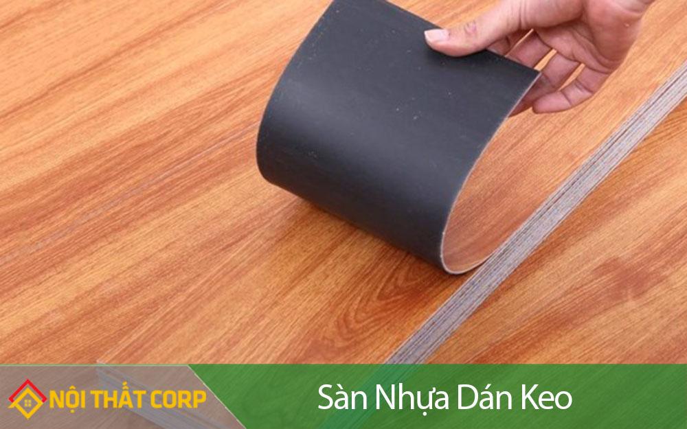 Sàn nhựa dán keo